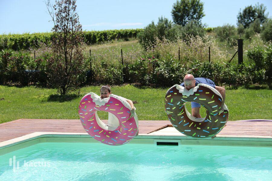 Domaine de la Grangette espace piscine