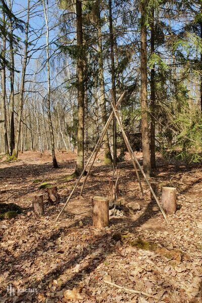 Domaine de la Roche Couloir Réunion informelle au Wood Camp