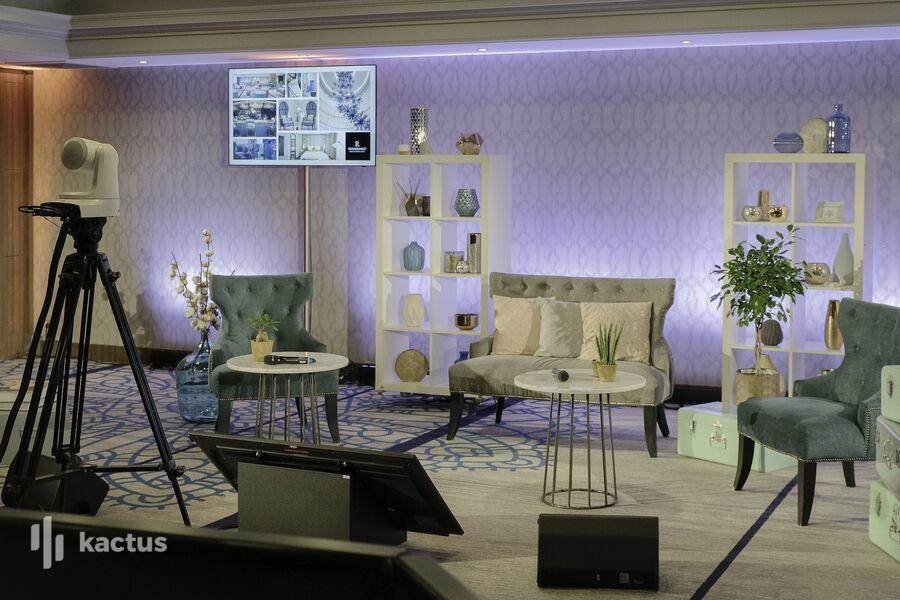 Renaissance Paris La Defense Hotel Evenement hybride et virtuel