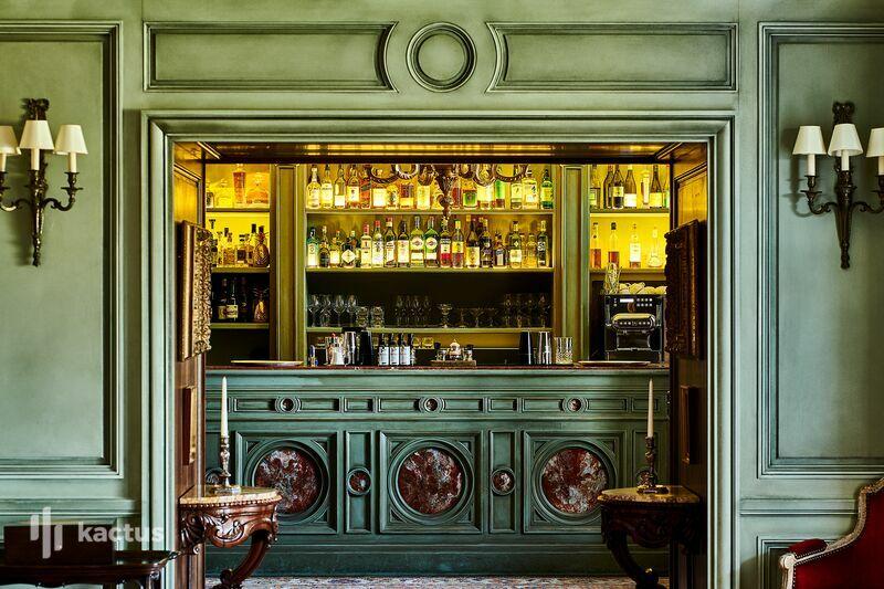 Airelles Gordes, La Bastide ***** Bar de l'hôtel