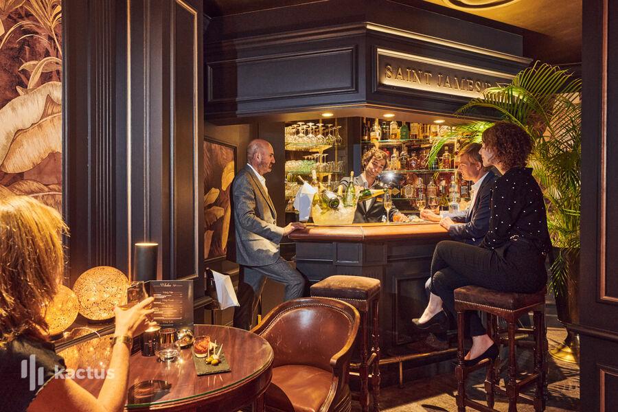 Hôtel Carlton Lille Bar Saint James