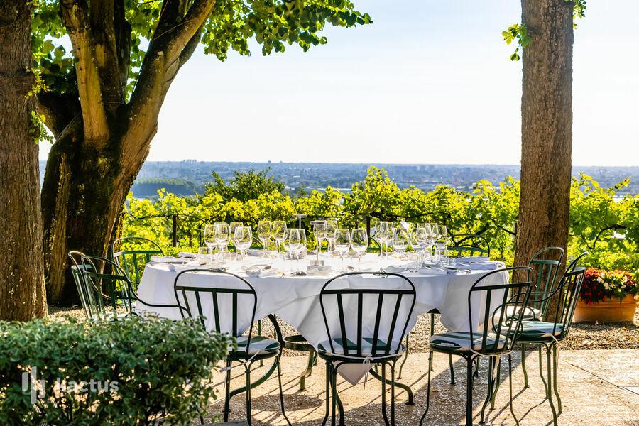Hôtel Saint-James Bouliac **** Terrasse panoramique