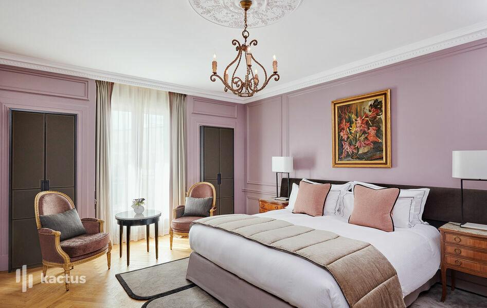Hôtel Lancaster - Paris Champs-Elysées ***** Chambre Deluxe 25m²