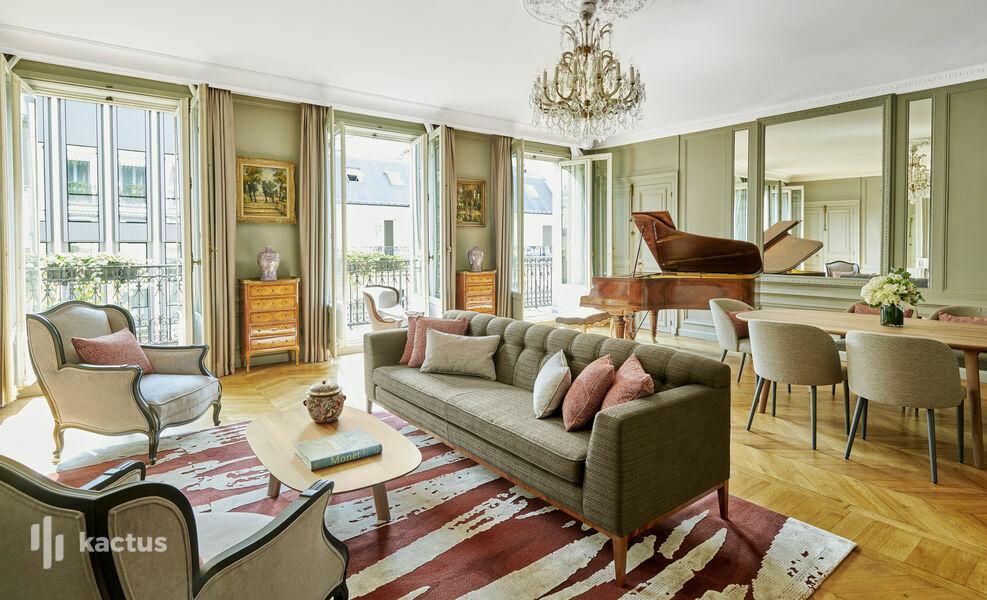 Hôtel Lancaster - Paris Champs-Elysées ***** Suite Signature Marlene Dietrich 85m²