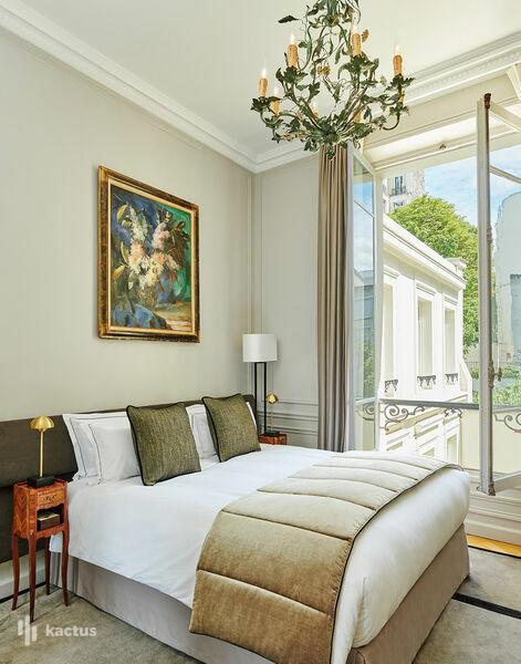 Hôtel Lancaster - Paris Champs-Elysées ***** Chambre supérieure 20m²