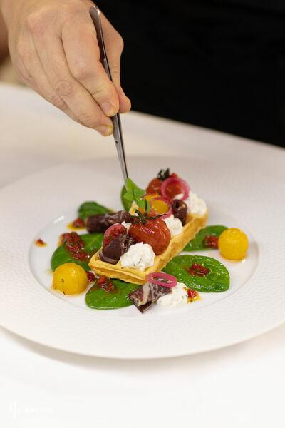 Hôtel Lancaster - Paris Champs-Elysées ***** Cuisine du Chef Sébastien Giroud