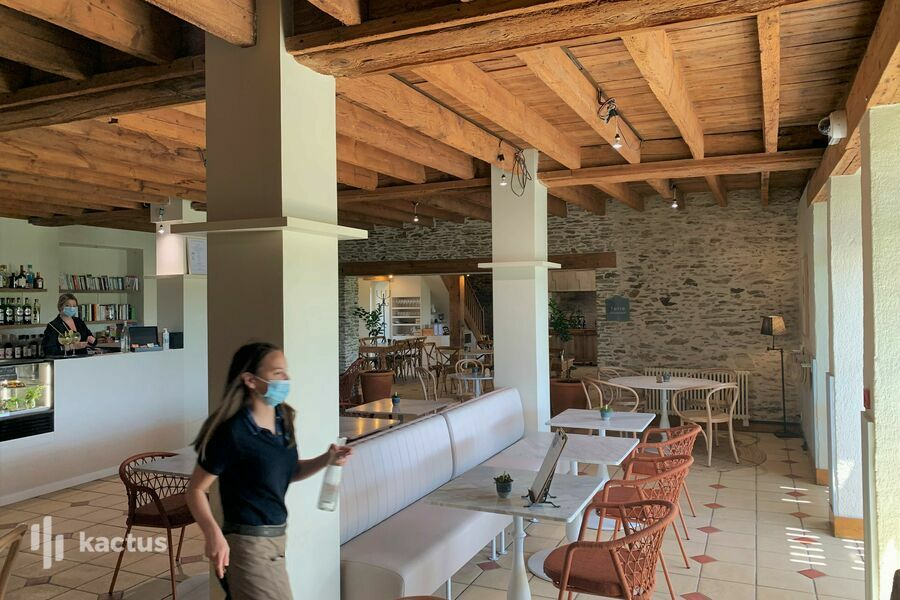 Éco-Domaine La Fontaine  Salle de restaurant