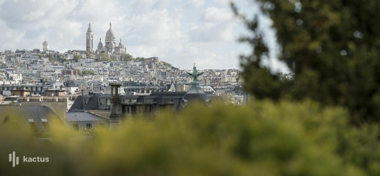 Hyatt Paris Madeleine ***** Vue de la Terrasse de la Suite Présidentielle