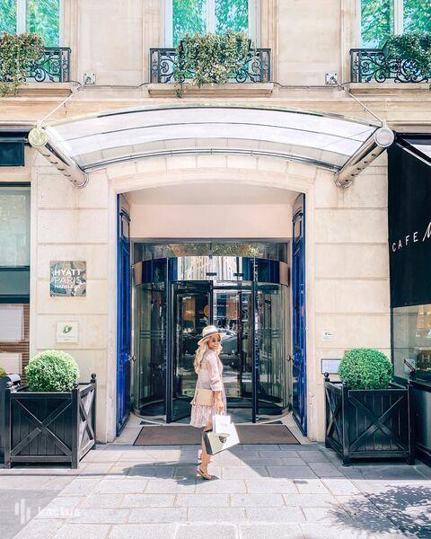 Hyatt Paris Madeleine ***** Entrée de l'hôtel
