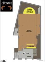 Plan salle mariage theatre du renard rdc