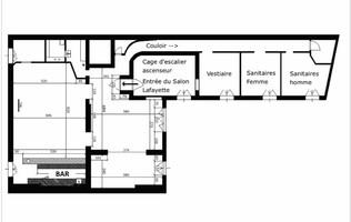 Plan salle mariage salon lafayette