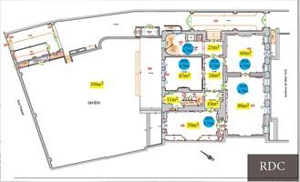 Plan salle mariage mona bismarck american center rdc