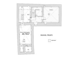 Plan salle mariage cour du marais sous sol