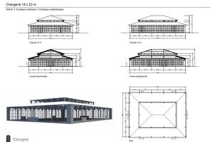 Plan salle mariage chateau de la cour senlisse   orangerie