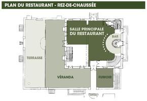 Plan salle mariage restaurant l'ile rdc