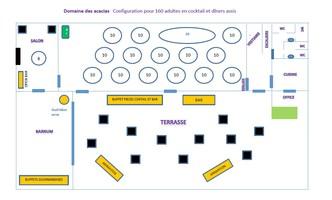 Plan salle mariage domaine des acacias