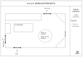 Plan salle mariage domaine saint clair   salon biblioth%c3%a8que