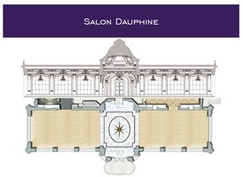Plan salle mariage pavillon dauphine   salon dauphine