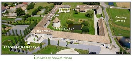 Plan salle mariage domaine de mauvoisin   vue d'ensemble