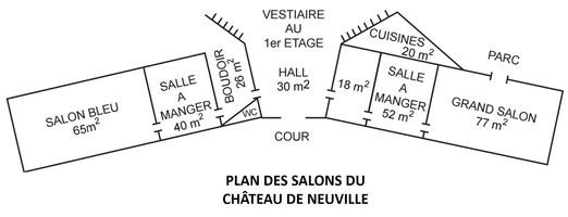 Plan salle mariage ch%c3%a2teau de neuville   plan des salons du ch%c3%a2teau