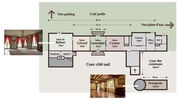 Plan salle mariage ch%c3%a2teau de mauvi%c3%a8res