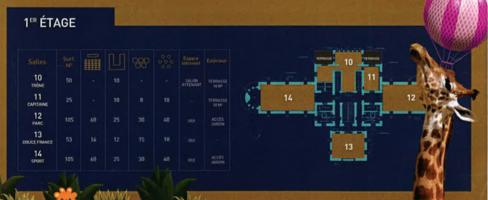 Zalthabar   plan 1er etage