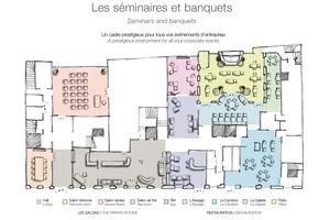 Castille hotel paris   plan
