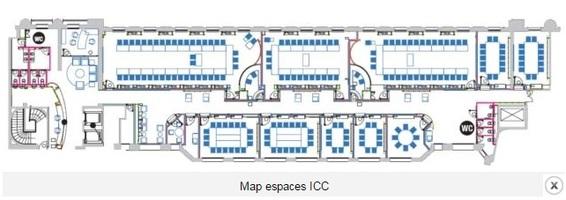 Espaces icc plan
