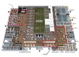 Plan 3d salons   foyer