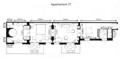 Plan appartement 77