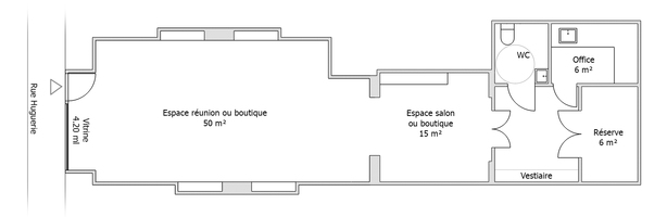 Plan salon tourny
