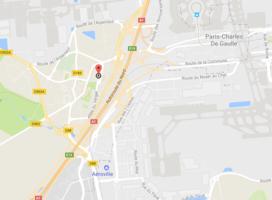Map localisation hotel