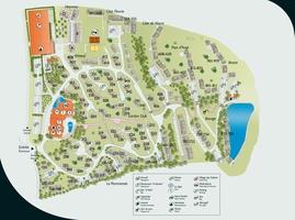 Plan du village club normandy garden
