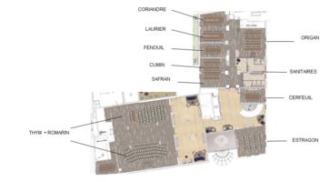 Plan nouvelles salles
