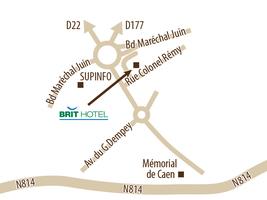 Caen nord 2018 carte
