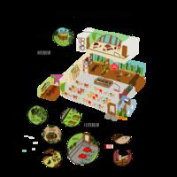 Plan espaces de la recyclerie