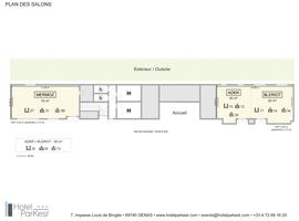 Plan des salons   h%c3%b4tel parkest