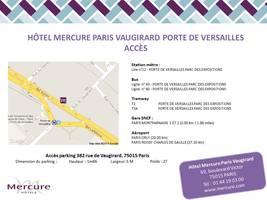 Acces map fran%c3%a7ais   mercure paris vaugirard porte de versailles