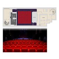 1 salle de projection