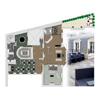 3   penthouse terrasse