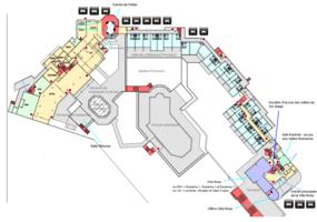 Hotel plan de r%c3%a9partition des salles